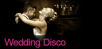 Deluxe Wedding Disco Entertainment for Hire