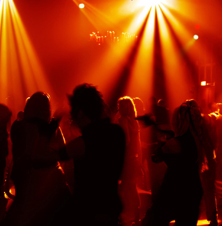 Bring the mobile night club to any venue with Deckstar Deluxe - lighting hire and disco with club DJ